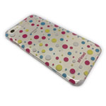 Чехол X-Fitted Colorful Dot для Apple iPhone 7 plus (прозрачный, пластиковый)