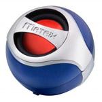 Портативная колонка Matrix Audio ONE Portable speaker (bluetooth, голубая, моно)