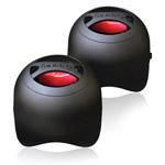 Портативные колонки DBEST PS4003BT Duo Bluetooth Speaker (bluetooth, черные, стерео)