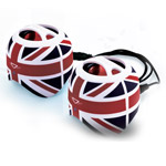 Портативные колонки DBEST PS4003BT Duo Bluetooth Speaker (bluetooth, UK, стерео)