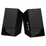 Стерео-колонки Divoom IRIS-05 (черные, стерео, компьютерные)