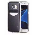 Чехол Mercury Goospery Slim Plus S для Samsung Galaxy S7 edge (черный, пластиковый)