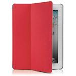 Чехол Odoyo AirCoat Folio Case для Apple iPad 2/new iPad (красный, кожанный)