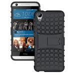 Чехол Yotrix Shockproof case для HTC Desire 728 (черный, пластиковый)