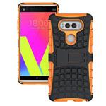 Чехол Yotrix Shockproof case для LG V20 (оранжевый, пластиковый)