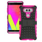 Чехол Yotrix Shockproof case для LG V20 (розовый, пластиковый)