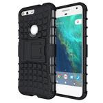 Чехол Yotrix Shockproof case для Google Pixel XL (черный, пластиковый)