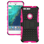 Чехол Yotrix Shockproof case для Google Pixel XL (розовый, пластиковый)