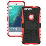 Чехол Yotrix Shockproof case для Google Pixel XL (красный, пластиковый)
