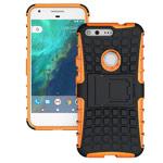 Чехол Yotrix Shockproof case для Google Pixel XL (оранжевый, пластиковый)