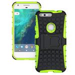 Чехол Yotrix Shockproof case для Google Pixel XL (зеленый, пластиковый)