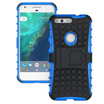 Чехол Yotrix Shockproof case для Google Pixel XL (синий, пластиковый)