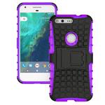 Чехол Yotrix Shockproof case для Google Pixel XL (фиолетовый, пластиковый)