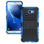 Чехол Yotrix Shockproof case для Samsung Galaxy J5 Prime (синий, пластиковый)