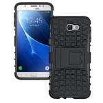 Чехол Yotrix Shockproof case для Samsung Galaxy J7 Prime (черный, пластиковый)