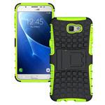 Чехол Yotrix Shockproof case для Samsung Galaxy J7 Prime (зеленый, пластиковый)