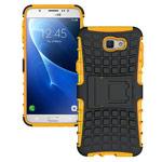 Чехол Yotrix Shockproof case для Samsung Galaxy J7 Prime (оранжевый, пластиковый)