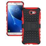 Чехол Yotrix Shockproof case для Samsung Galaxy J7 Prime (красный, пластиковый)