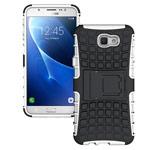 Чехол Yotrix Shockproof case для Samsung Galaxy J7 Prime (белый, пластиковый)