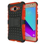 Чехол Yotrix Shockproof case для Samsung Galaxy J2 Prime (красный, пластиковый)