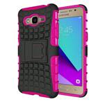Чехол Yotrix Shockproof case для Samsung Galaxy J2 Prime (розовый, пластиковый)