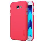 Чехол Nillkin Hard case для Samsung Galaxy A3 2017 (красный, пластиковый)