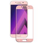 Защитная пленка Yotrix 3D Glass Protector для Samsung Galaxy A3 2017 (стеклянная, розово-золотистая)