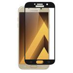 Защитная пленка Yotrix 3D Glass Protector для Samsung Galaxy A7 2017 (стеклянная, черная)