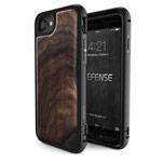 Чехол X-doria Defense Lux для Apple iPhone 7 (Walnut, маталлический)