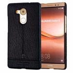 Чехол Pierre Cardin Slim Back Cover для Huawei Mate 8 (черный, кожаный)