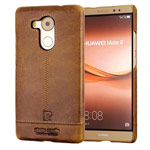 Чехол Pierre Cardin Slim Back Cover для Huawei Mate 8 (коричневый, кожаный)