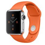Ремешок для часов Synapse Sport Band для Apple Watch (38 мм, оранжевый, силиконовый)