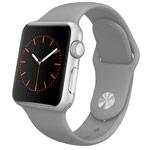 Ремешок для часов Synapse Sport Band для Apple Watch (38 мм, серый, силиконовый)