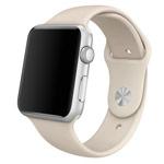 Ремешок для часов Synapse Sport Band для Apple Watch (38 мм, светло-серый, силиконовый)