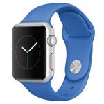 Ремешок для часов Synapse Sport Band для Apple Watch (38 мм, светло-синий, силиконовый)