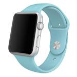 Ремешок для часов Synapse Sport Band для Apple Watch (38 мм, светло-голубой, силиконовый)