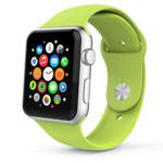 Ремешок для часов Synapse Sport Band для Apple Watch (38 мм, светло-зеленый, силиконовый)