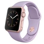 Ремешок для часов Synapse Sport Band для Apple Watch (38 мм, лиловый, силиконовый)