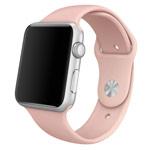 Ремешок для часов Synapse Sport Band для Apple Watch (38 мм, светло-розовый, силиконовый)