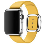 Ремешок для часов Synapse Modern Buckle для Apple Watch (42 мм, желтый, кожаный)