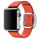 Ремешок для часов Synapse Modern Buckle для Apple Watch (38 мм, красный, кожаный)