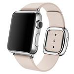 Ремешок для часов Synapse Modern Buckle для Apple Watch (38 мм, розовый, кожаный)