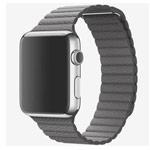 Ремешок для часов Synapse Leather Loop для Apple Watch (42 мм, серый, кожаный)