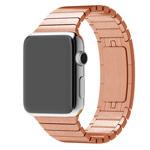 Ремешок для часов Synapse Link Bracelet для Apple Watch (38 мм, розово-золотистый, стальной)