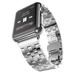 Ремешок для часов Synapse Metal Bracelet для Apple Watch (42 мм, серебристый, стальной)