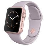 Ремешок для часов Synapse Sport Band для Apple Watch (38 мм, фиолетовый, силиконовый)