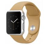 Ремешок для часов Synapse Sport Band для Apple Watch (38 мм, коричневый, силиконовый)