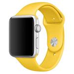 Ремешок для часов Synapse Sport Band для Apple Watch (38 мм, желтый, силиконовый)