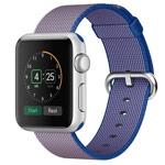 Ремешок для часов Synapse Woven Nylon для Apple Watch (42 мм, синий/розовый, нейлоновый)