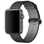 Ремешок для часов Synapse Woven Nylon для Apple Watch (38 мм, черный, нейлоновый)